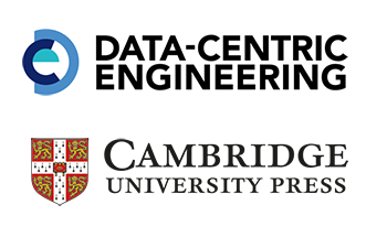 Data Centric Engineering and Cambridge University Press logos
