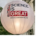 Science is great balloon
